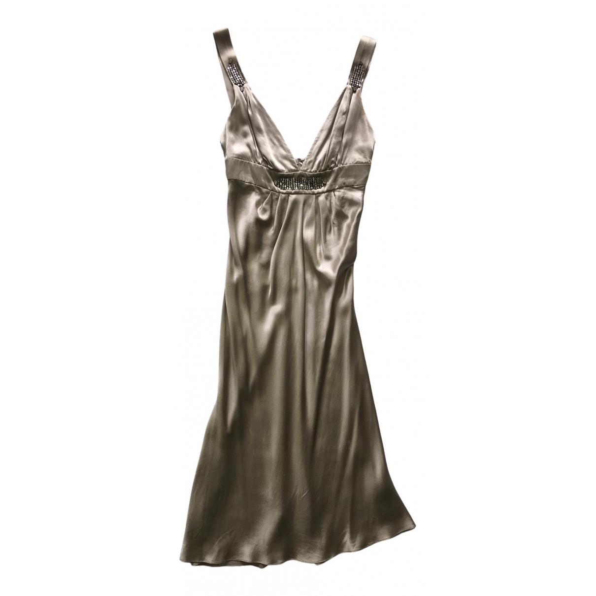 Collette Dinnigan - Robe   pour femme en soie - beige