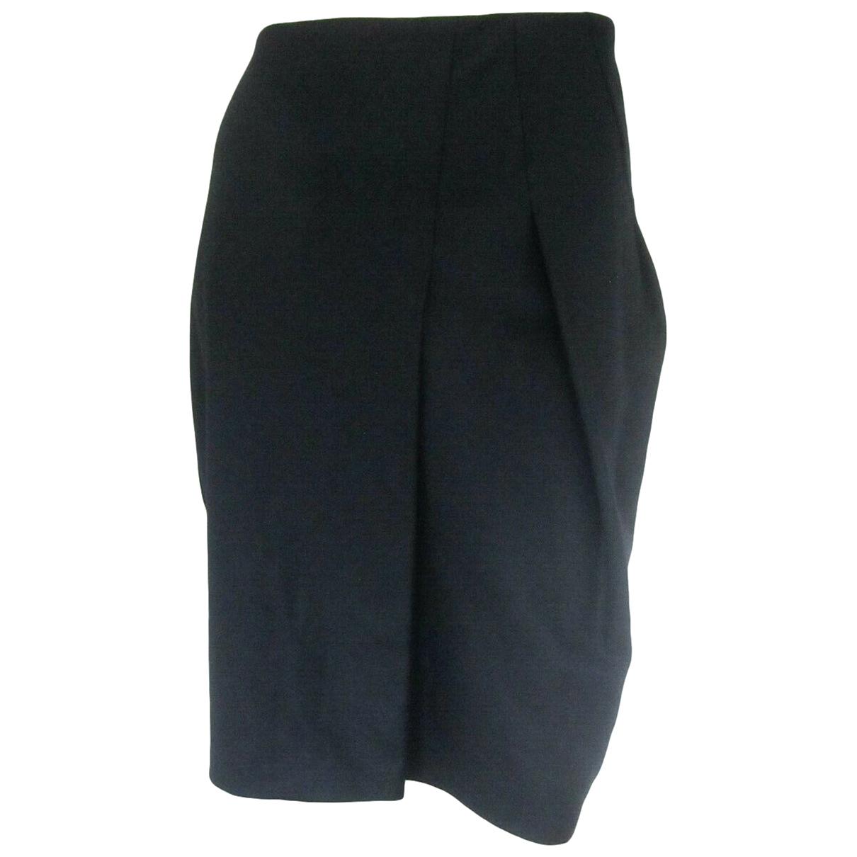 Jil Sander \N Black Wool skirt for Women 42 FR