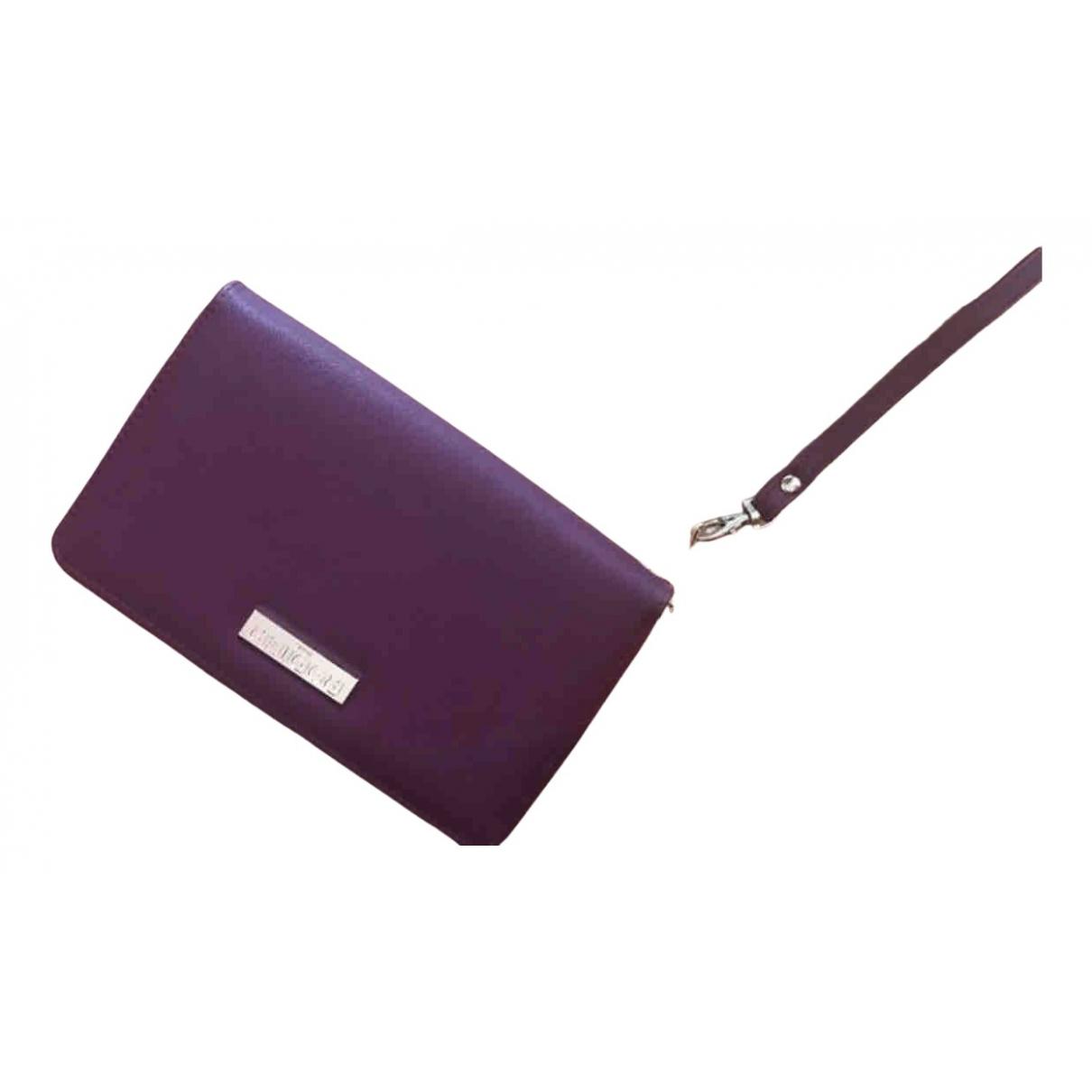 Rodier N Burgundy Leather wallet for Women N