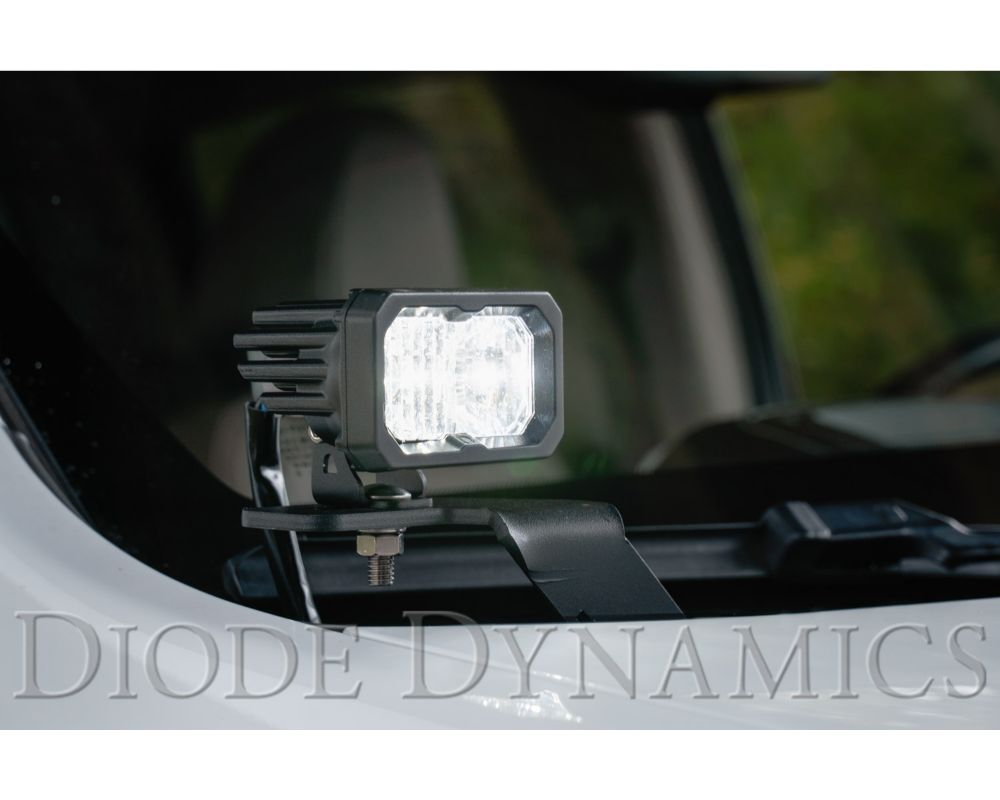 Diode Dynamics DD6653-ssdtch-1106 Stage Series 2 Inch LED Ditch Light Kit for 15-20 GMC Canyon Pro Yellow Combo