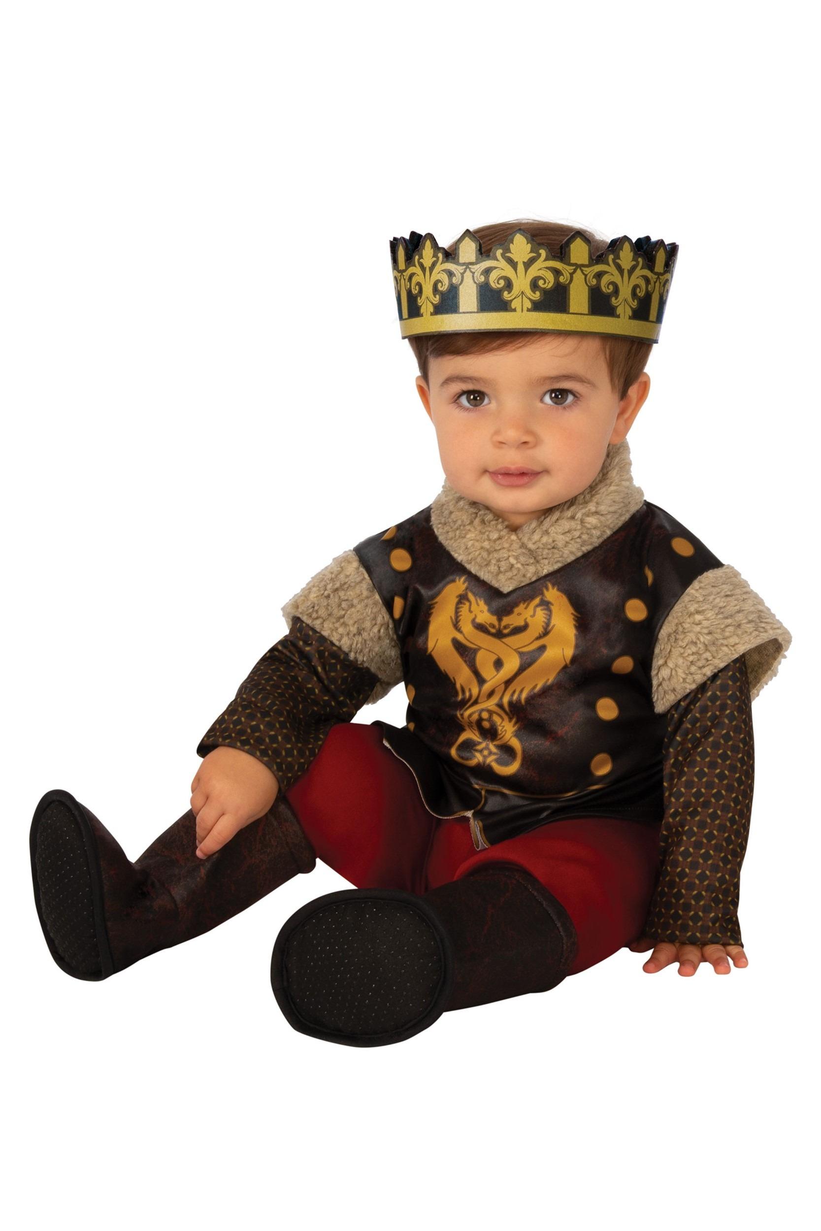 Infant & Toddler Medieval Prince Costume