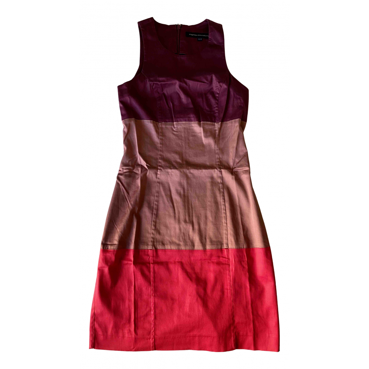 French Connection \N Pink Cotton - elasthane dress for Women 32 FR
