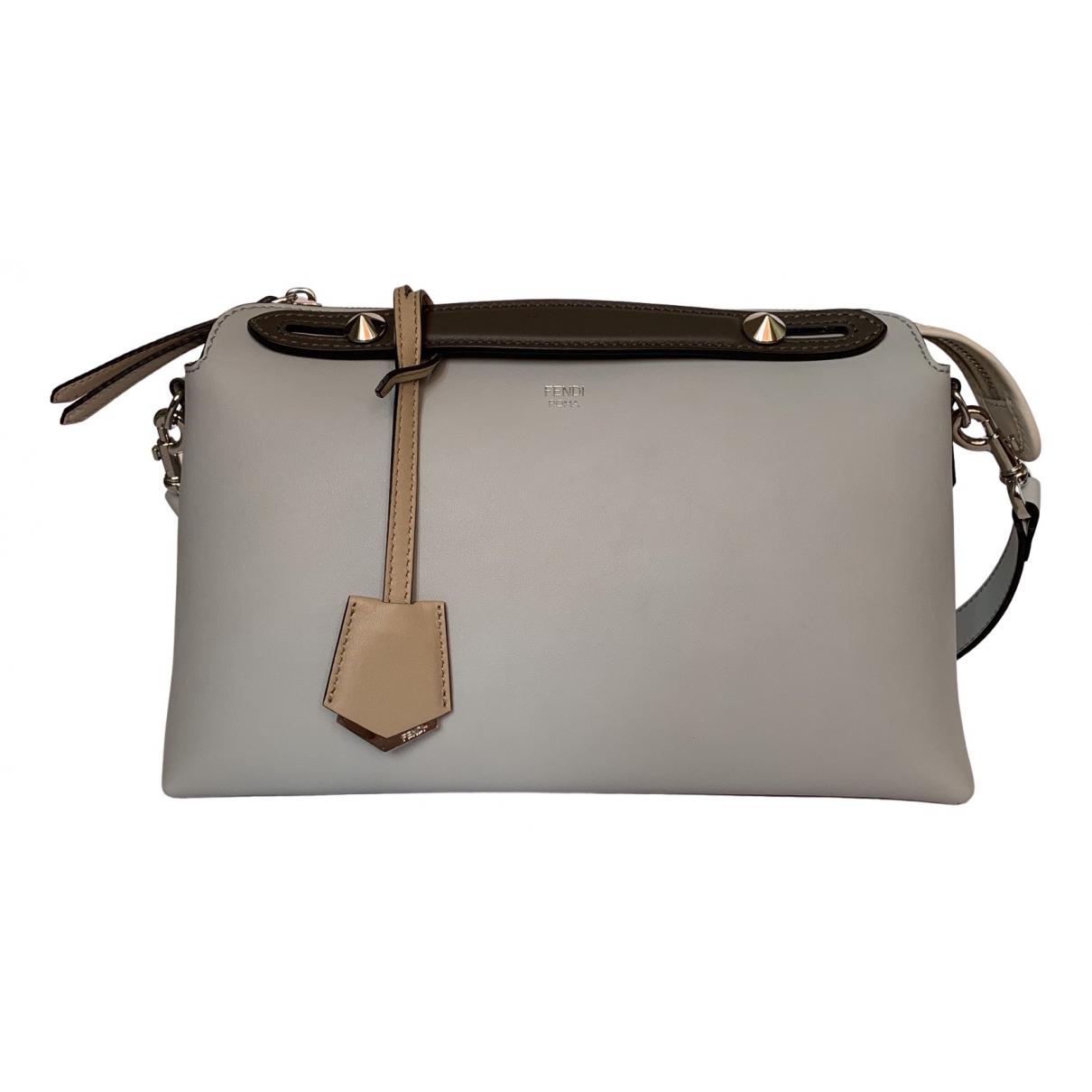 Fendi By The Way  Grey Leather handbag for Women \N