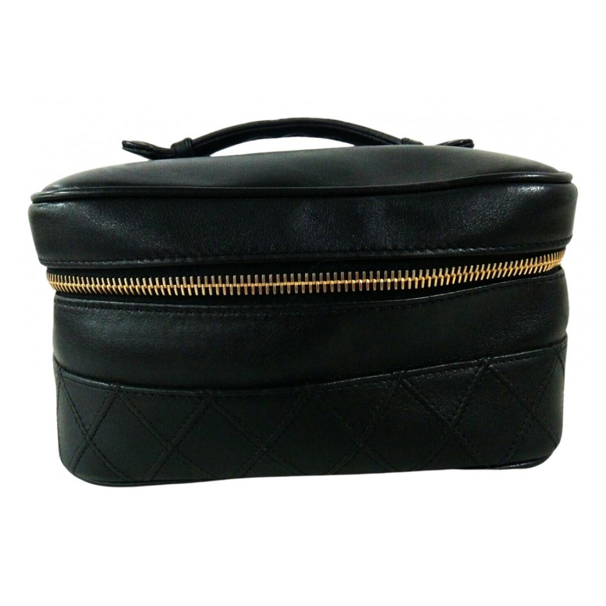 Chanel \N Black Leather Travel bag for Women \N