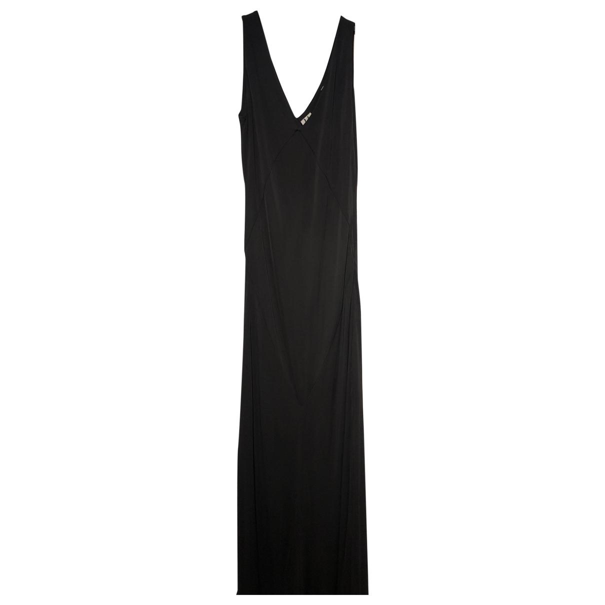 Halston Heritage \N Grey Silk dress for Women 6 US