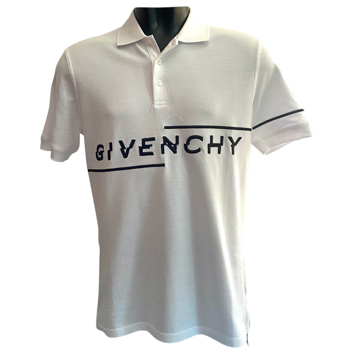 Givenchy \N White Cotton Polo shirts for Men M International
