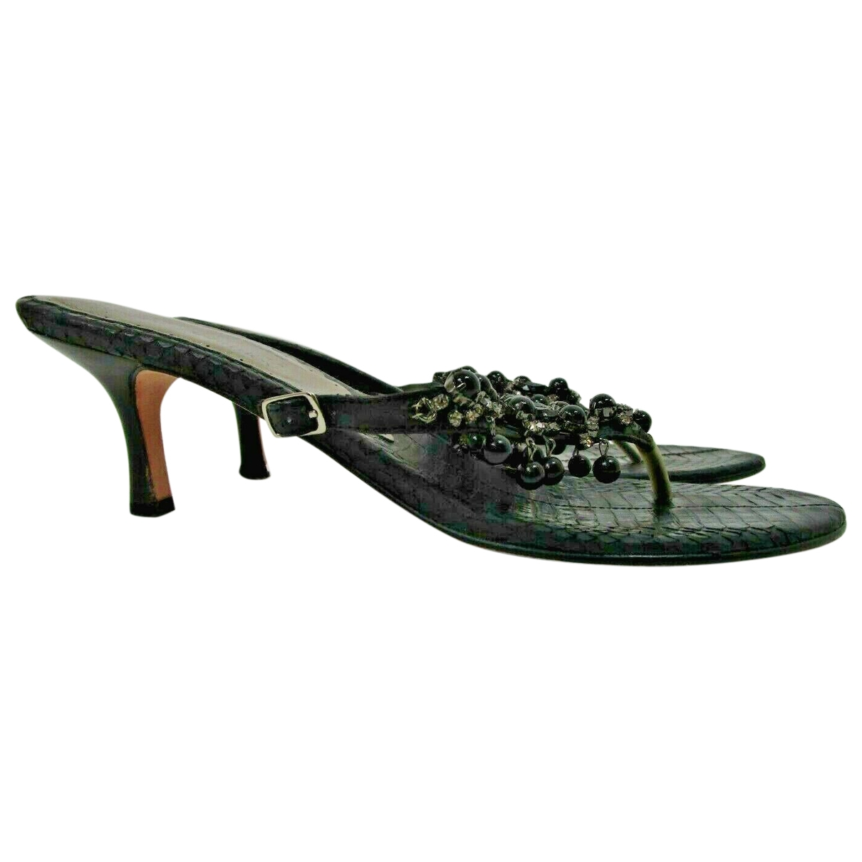 Russell & Bromley \N Black Exotic leathers Sandals for Women 9.5 US