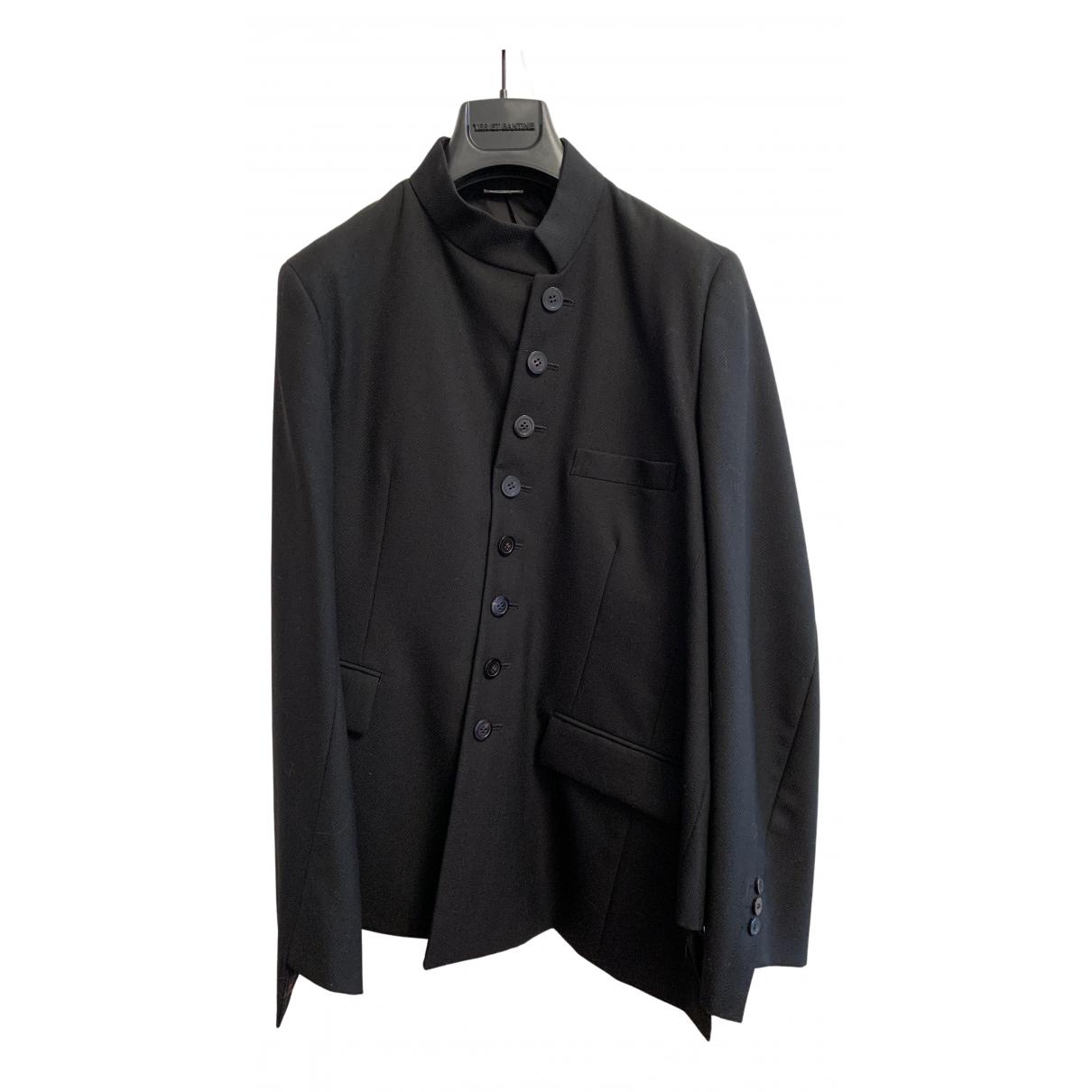 Comme Des Garcons - Costumes   pour homme en laine - noir