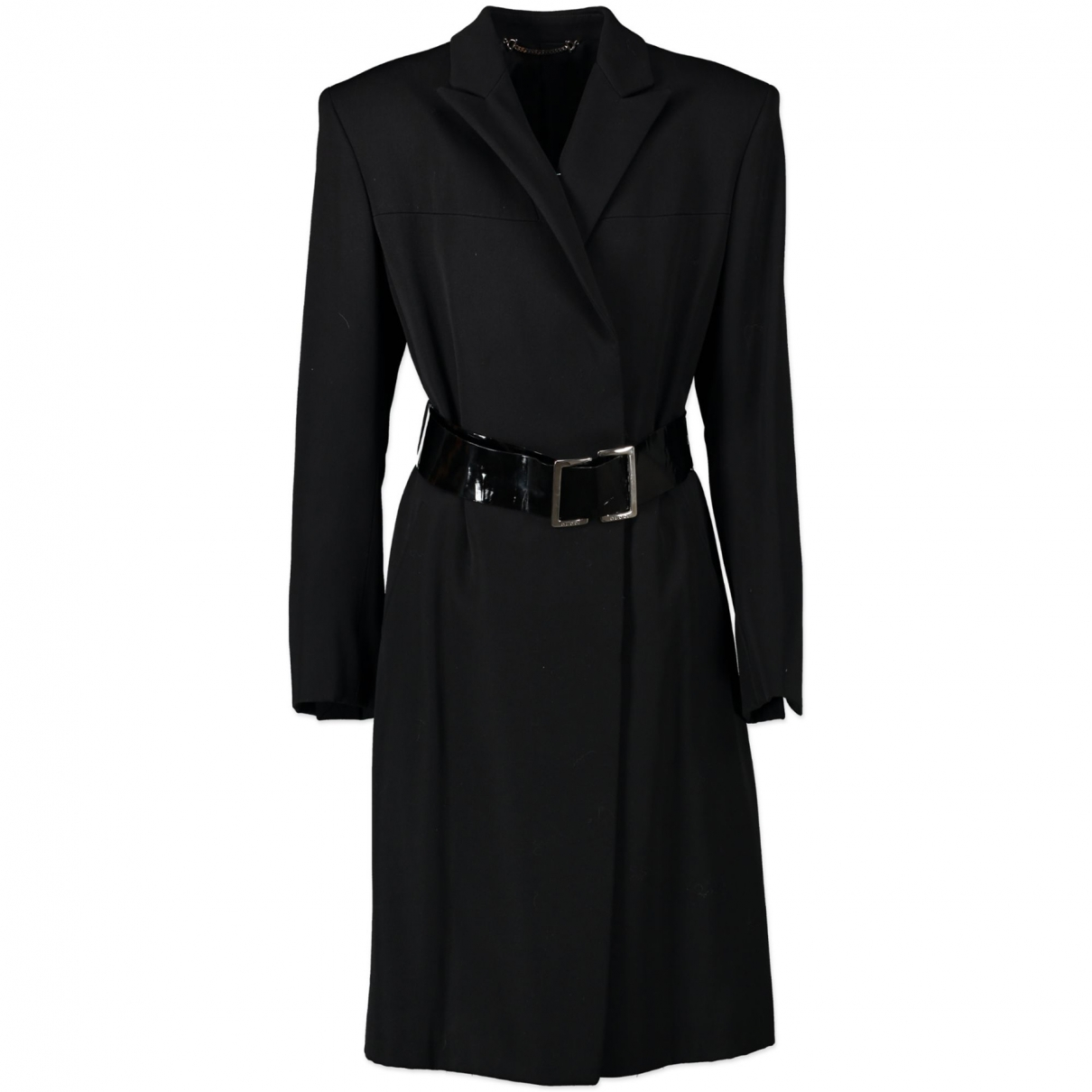 Gucci \N Black Wool coat for Women 42 IT