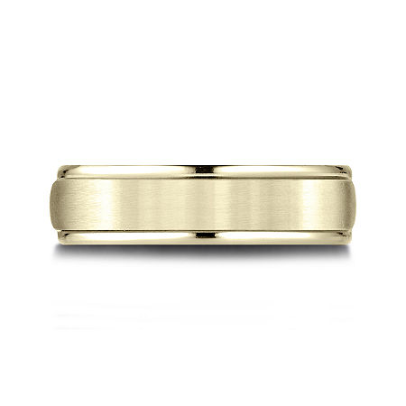 Mens 10K Yellow Gold 6mm Band, 12 1/2 , No Color Family