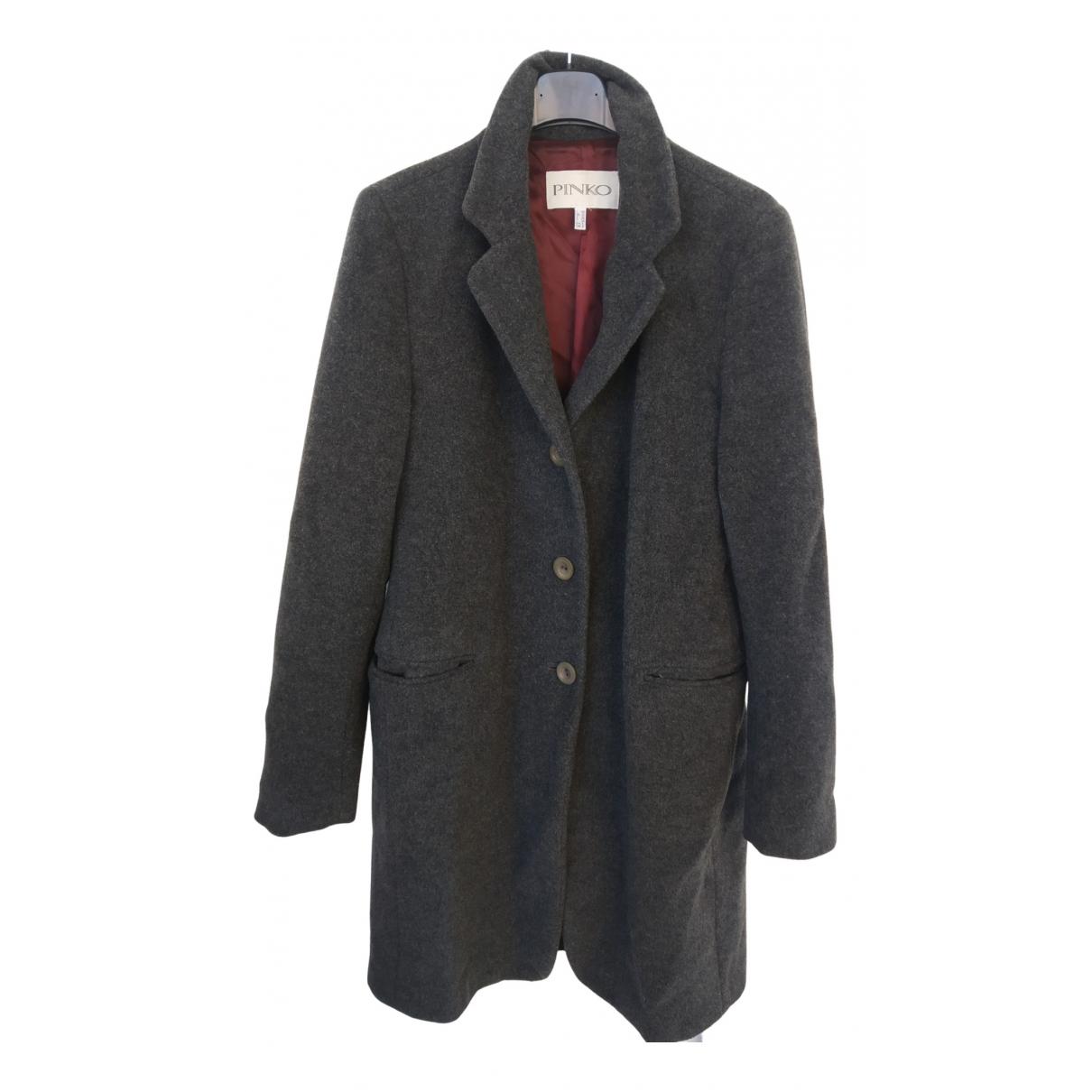 Pinko - Manteau   pour femme en cachemire - gris