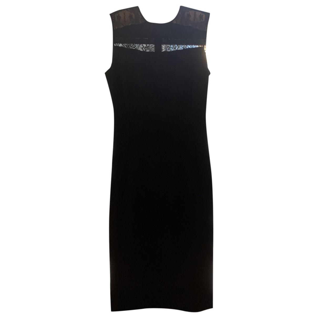 Stella Mccartney \N Kleid in  Schwarz Baumwolle - Elasthan