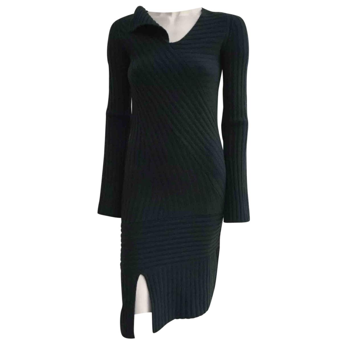 Nicole Farhi \N Kleid in  Gruen Wolle