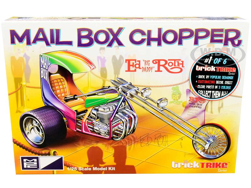 Skill 2 Model Kit Mail Box Chopper Trike (Ed