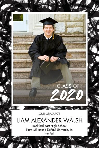 Graduation 20x30 Poster(s), Board, Home Décor -Bold Celebration