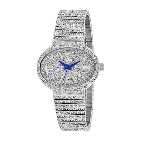 Christian Van Sant Womens Silver Tone Stainless Steel Bracelet Watch-Cv0250, One Size , No Color Family