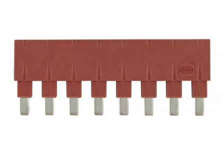 HARTING Han ES Press Series Male Plug In Jumper,8P, 8 Way, 1 Row, Rated At 16A, 500 V, For Use With Han E Series Connector, Han