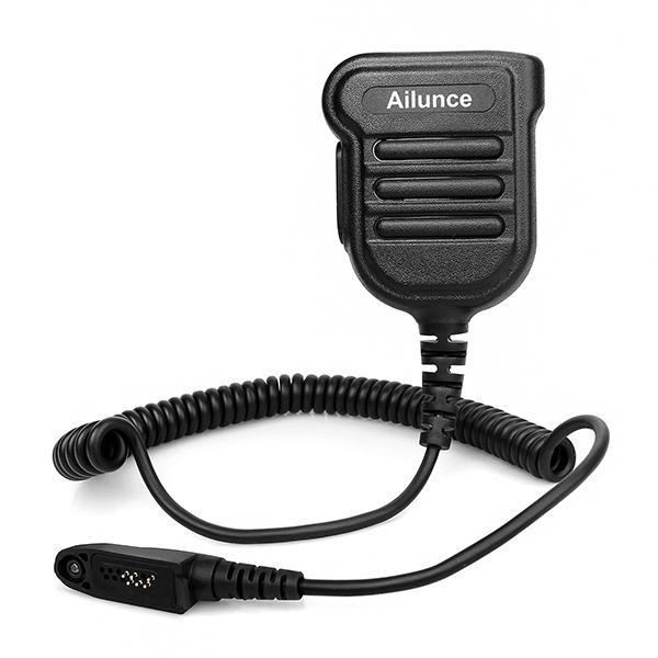 J9131K Retevis HD1 Microphone With 3.5mm Earphone Jack for Ailunce HD1 RT29 RT87 RT82 Dual Band DMR Digital Radio Walkie