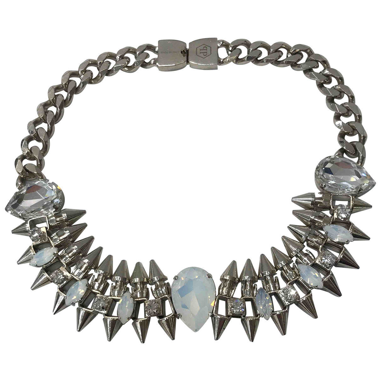Philipp Plein \N Silver Metal necklace for Women \N