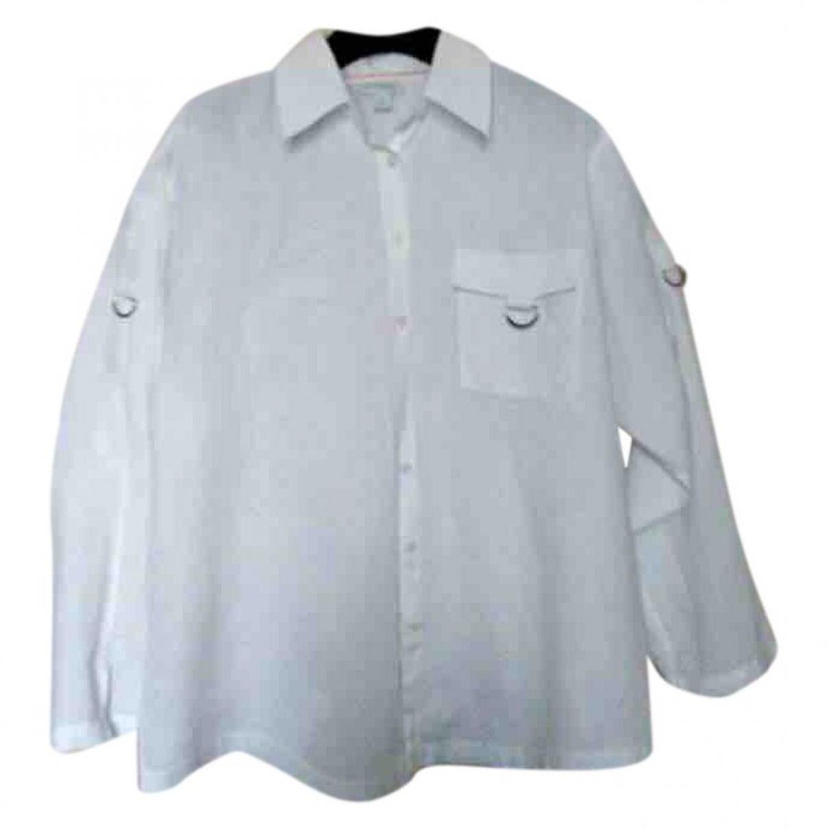 Camisa Oversize de Lino Non Signe / Unsigned