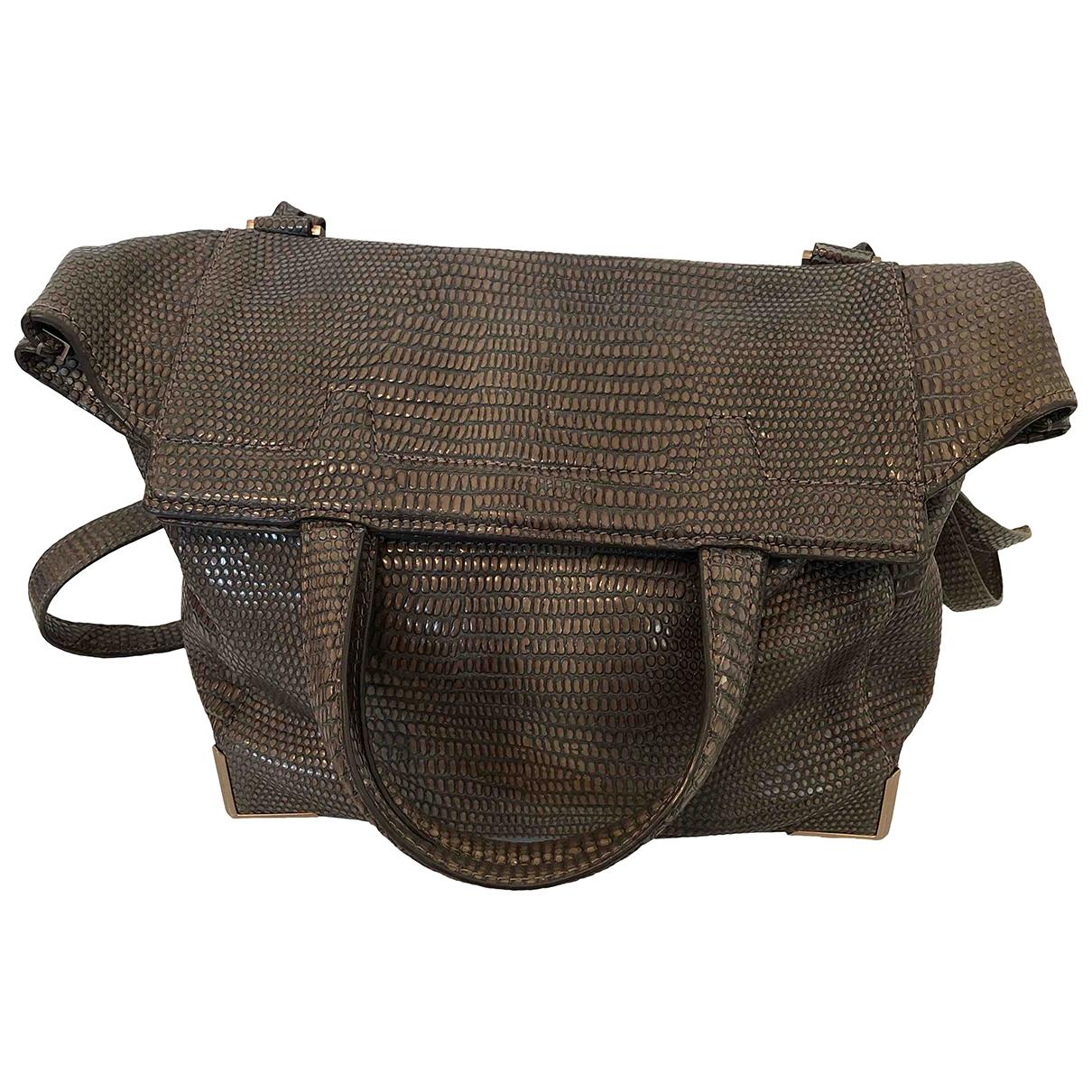 Alexander Wang \N Handtasche in  Grau Leder