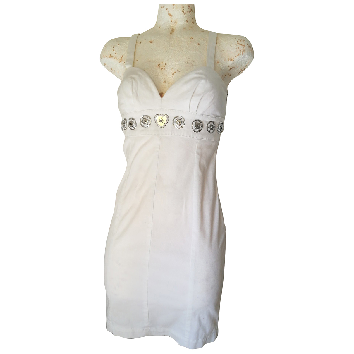 Moschino Cheap And Chic \N White Cotton dress for Women 40 IT