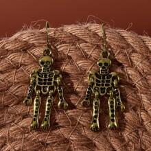 Skeleton Drop Earrings