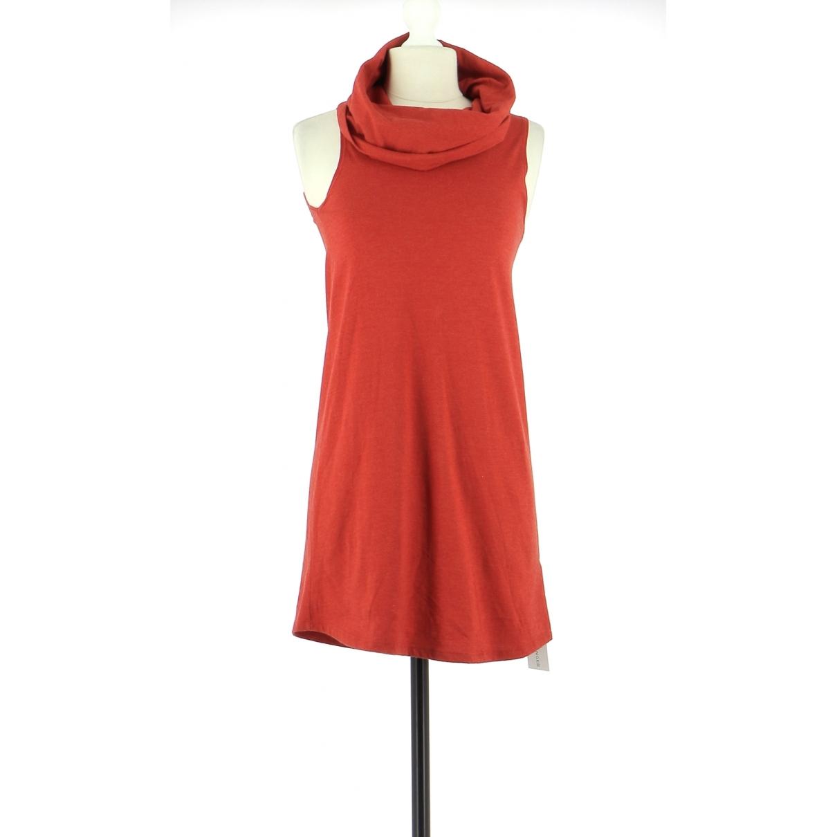 American Apparel - Robe   pour femme en coton - orange