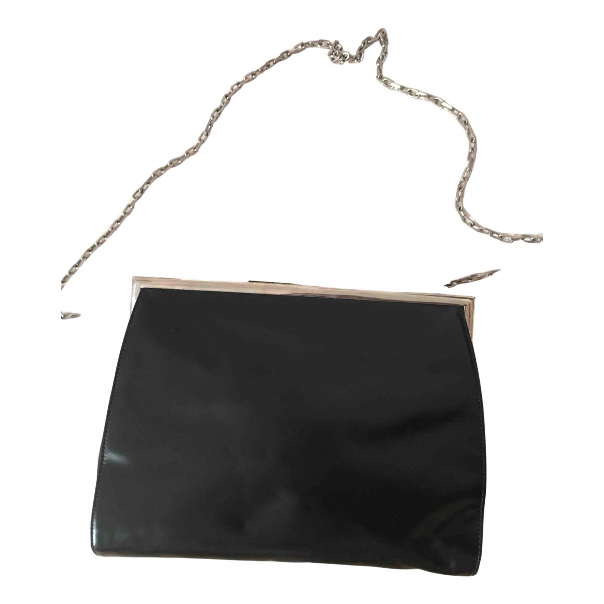 Calvin Klein - Sac a main   pour femme en cuir - noir