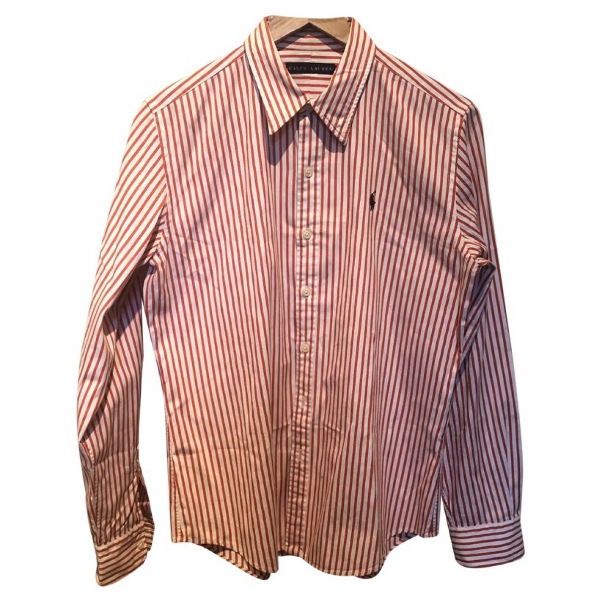 Ralph Lauren \N Top in  Rot Baumwolle