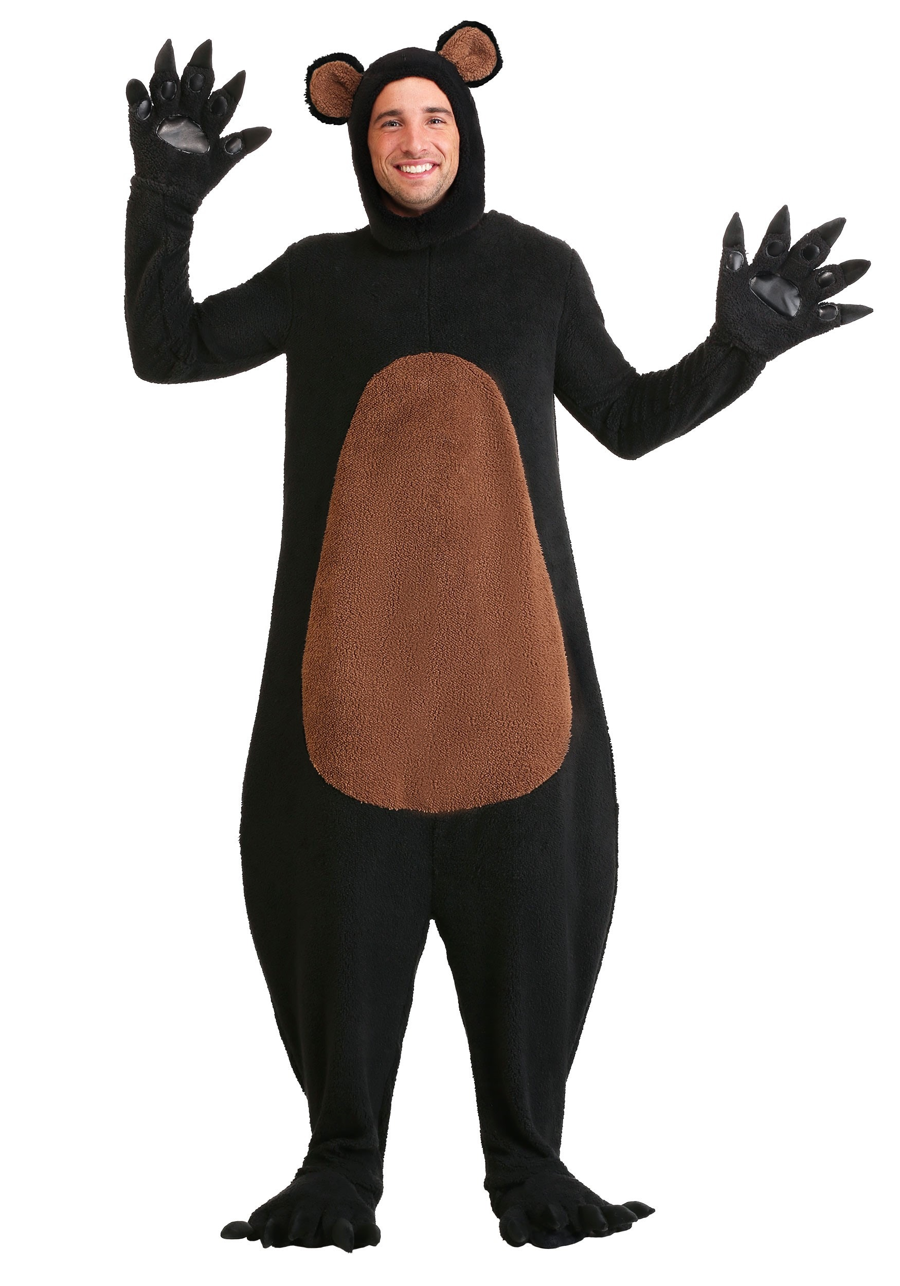 Grinning Grizzly Costume Plus Size