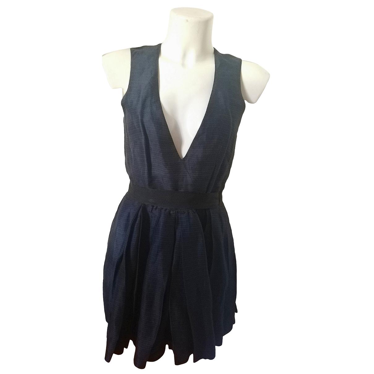 Isabel Marant Etoile N Navy Linen dress for Women 2 US