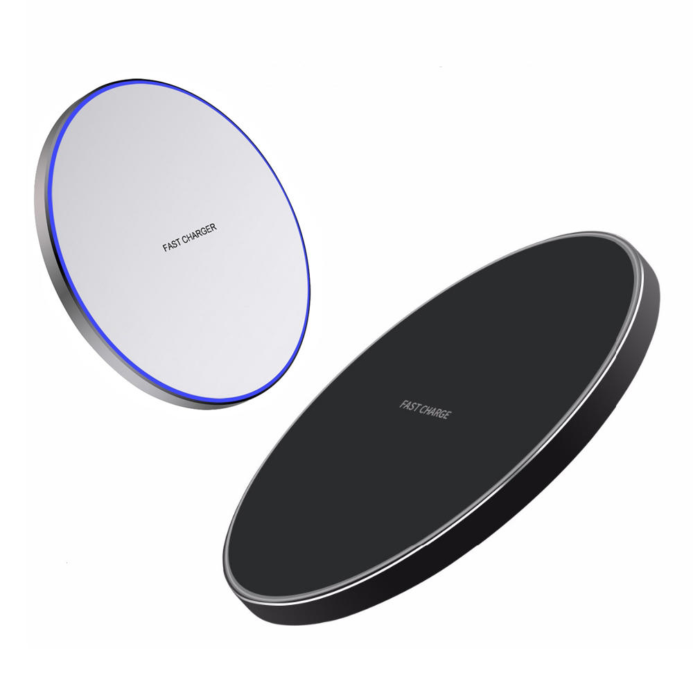 Bakeey 10W LED Indicator Fast Charging Wireless Charger For iPhone X XR XS Max Xiaomi Mi9 Mi 8 HUAWEI P30 Pro