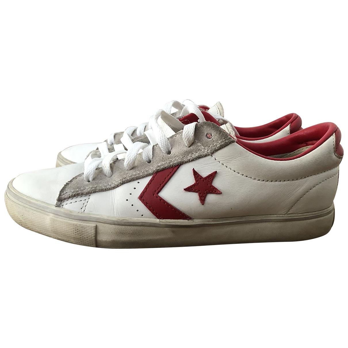 Converse \N Sneakers in  Weiss Leder
