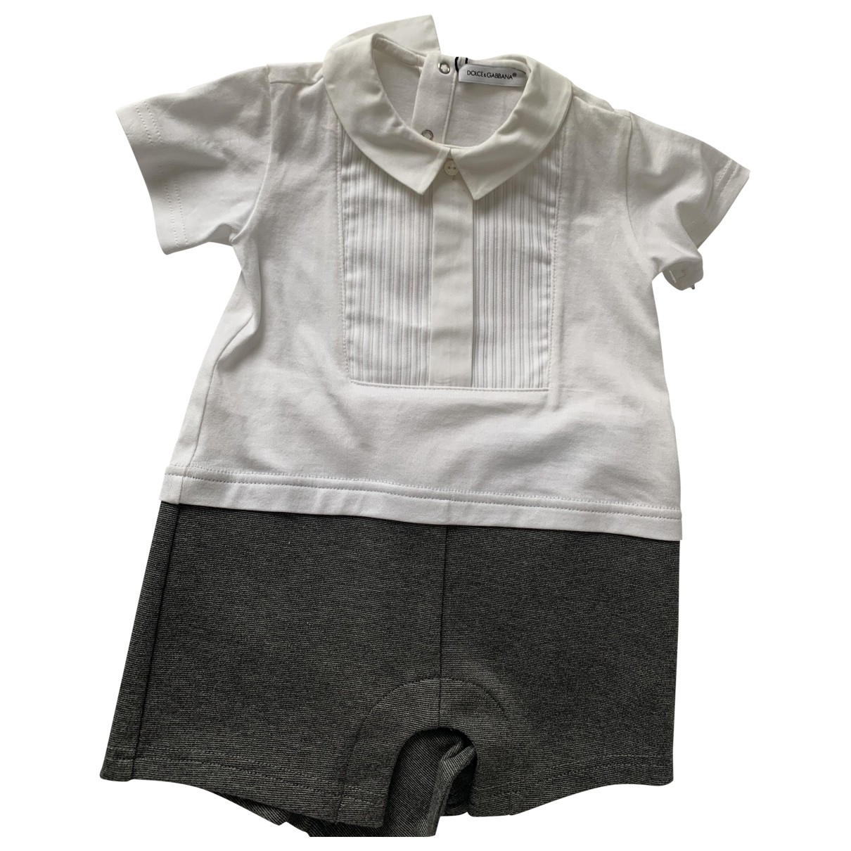 Dolce & Gabbana \N White Cotton Outfits for Kids 9 months - until 28 inches UK