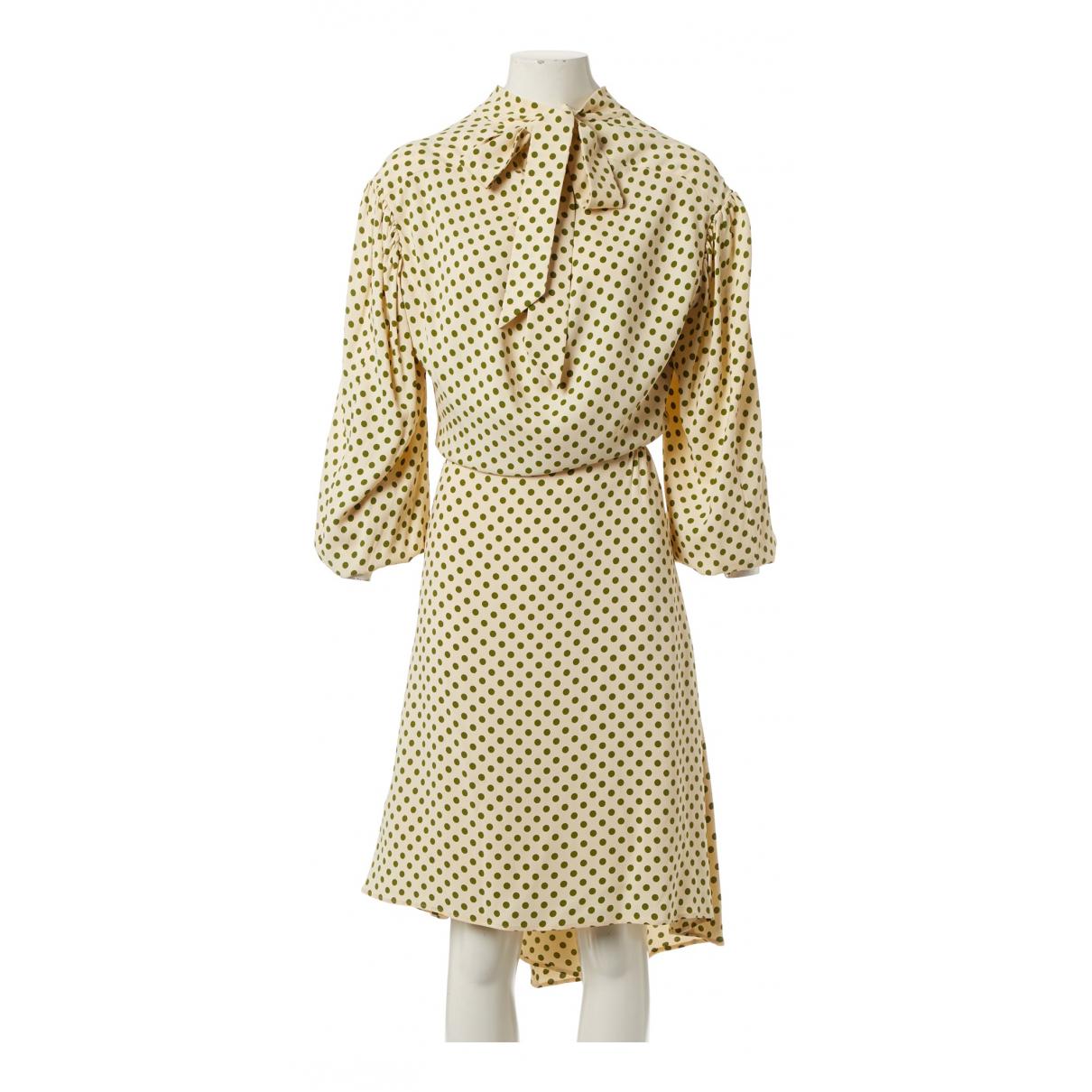 Balenciaga - Robe   pour femme - ecru