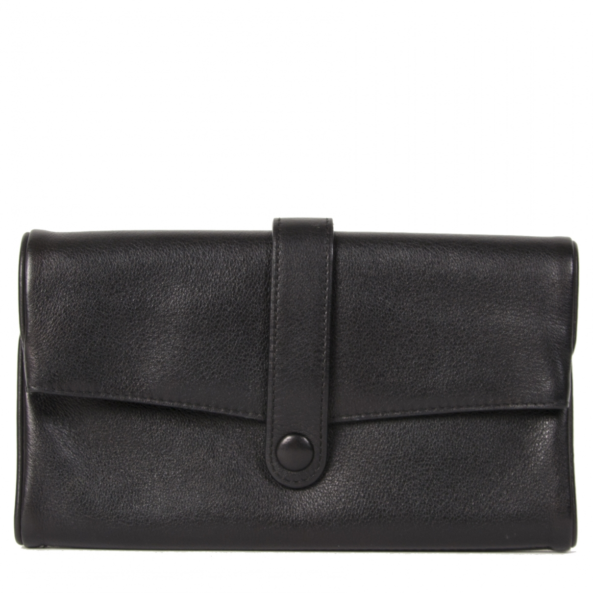 Delvaux \N Black Leather wallet for Women \N
