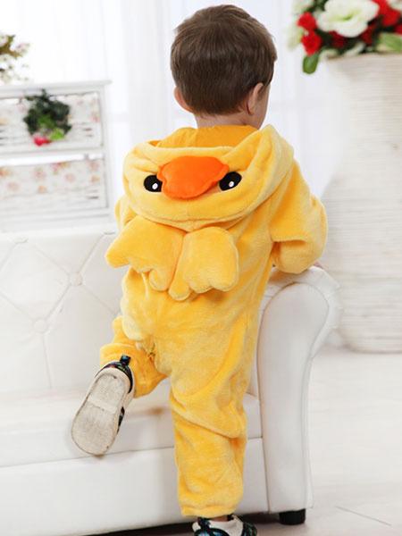 Milanoo Toddlers Costume Halloween Kids Animal Flannel Jumpsuits