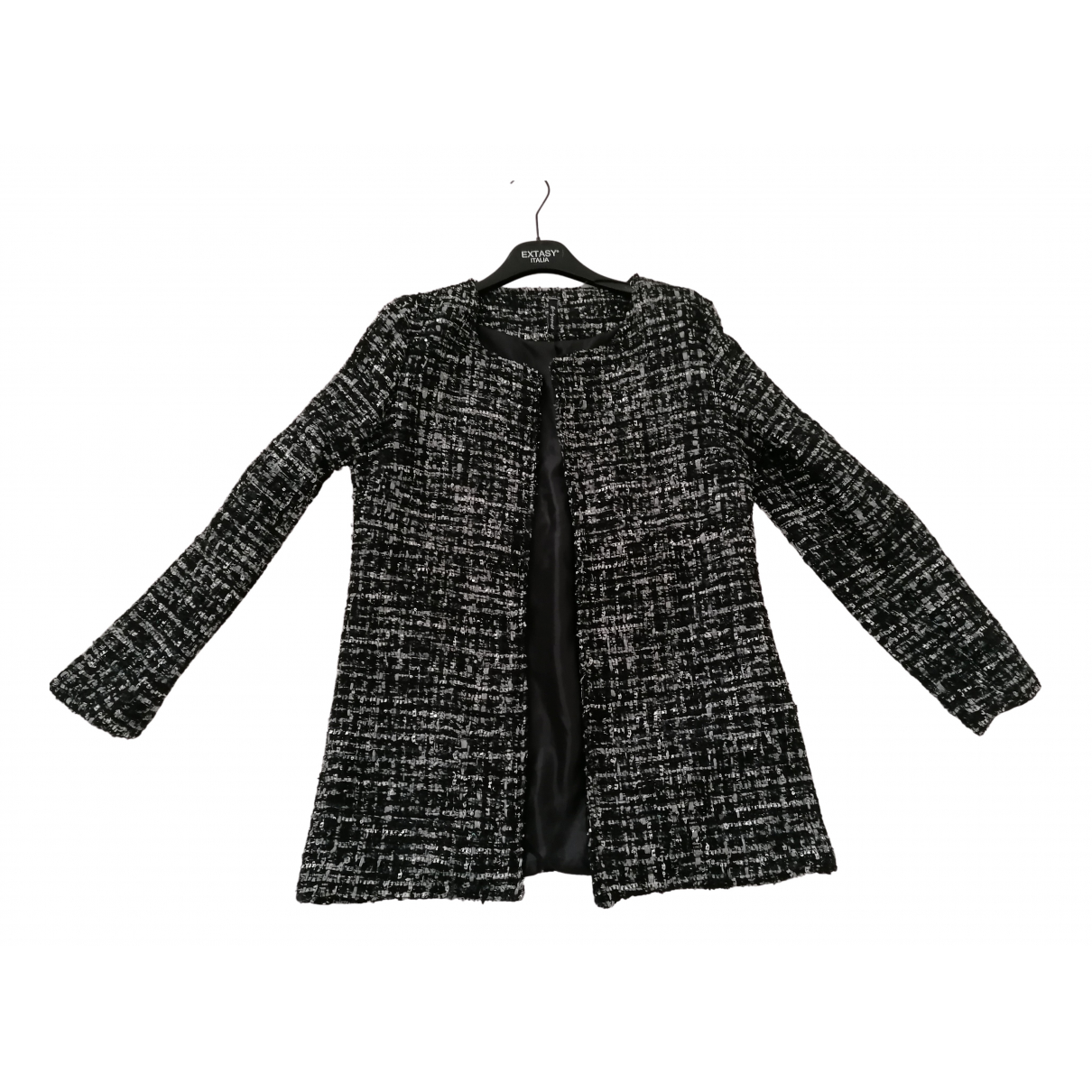 Non Signé / Unsigned N Black jacket for Women 46 IT