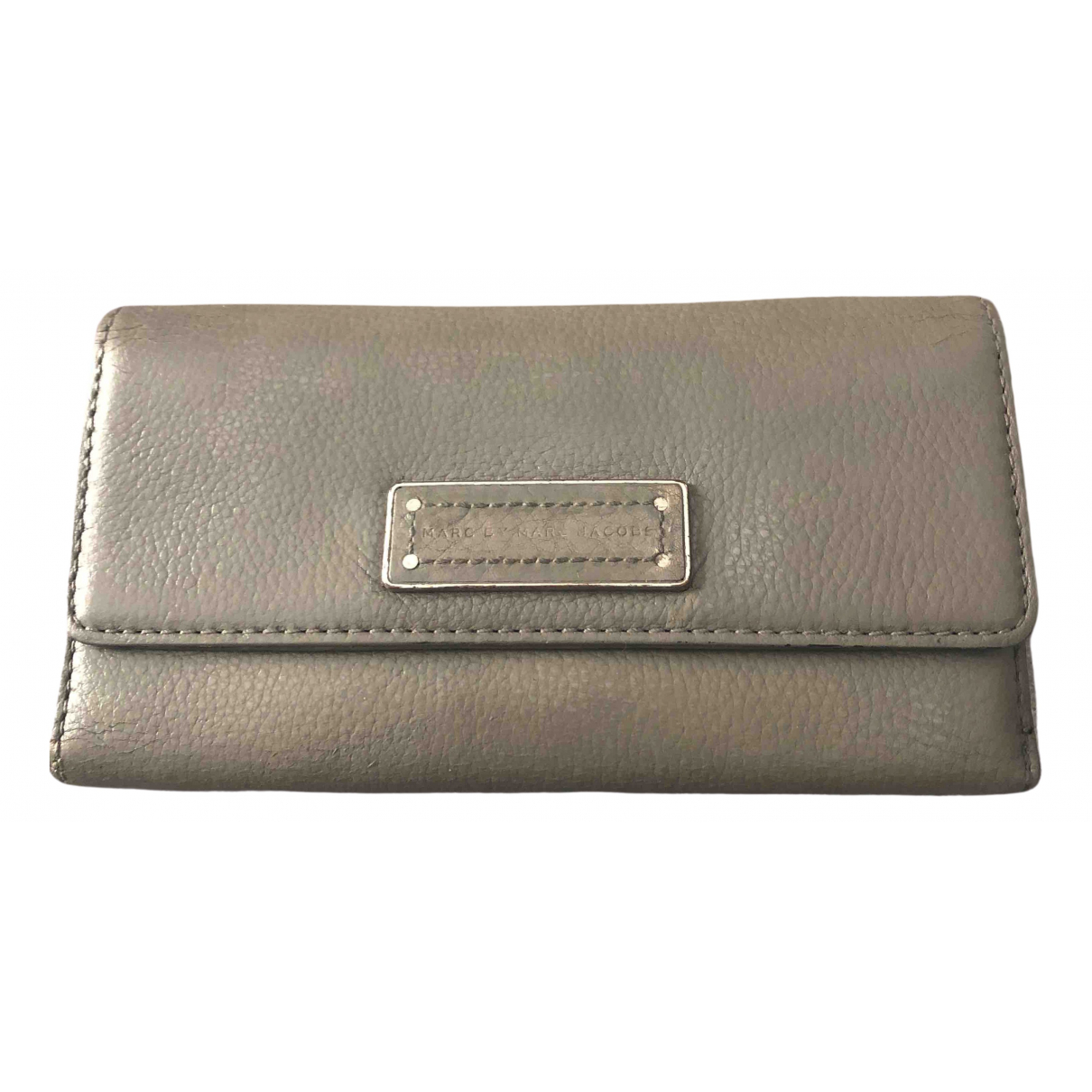 Marc By Marc Jacobs N Grey Leather wallet for Women N