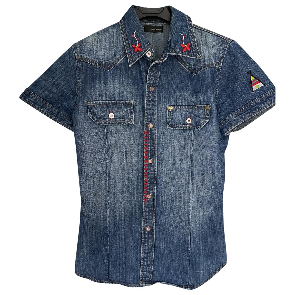 Dsquared2 \N Top in  Blau Denim - Jeans
