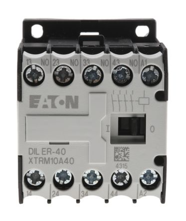 Eaton Contactor Relay - 4NO, 3 A Contact Rating