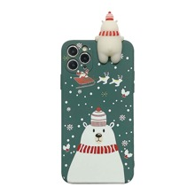Cartoon Christmas iPhone Case