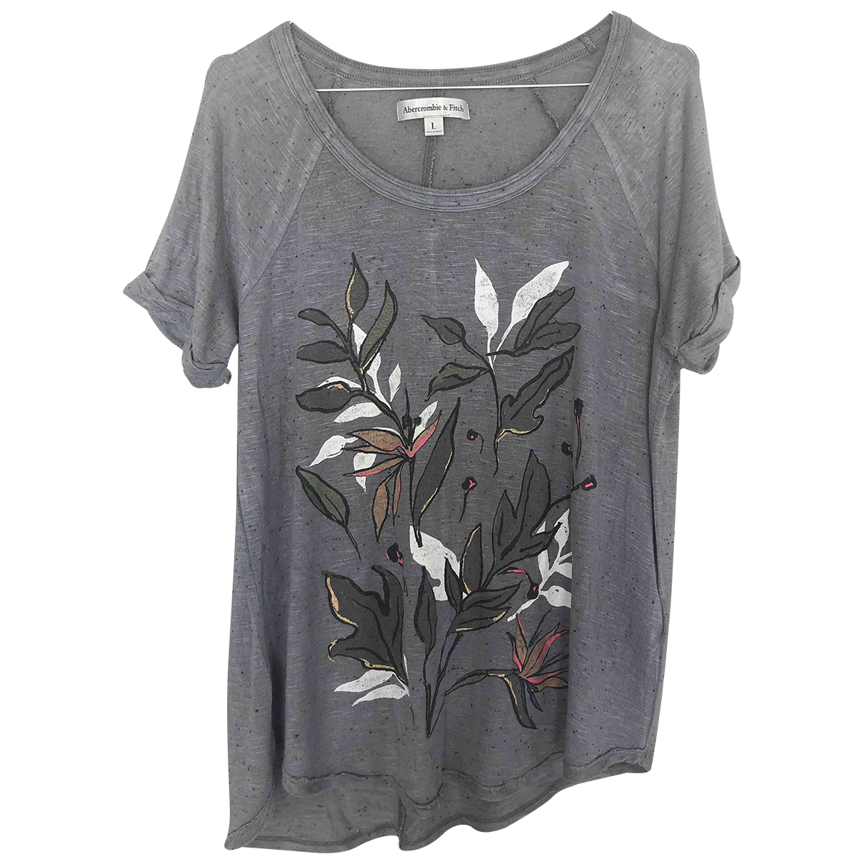Abercrombie & Fitch - Top   pour femme - anthracite