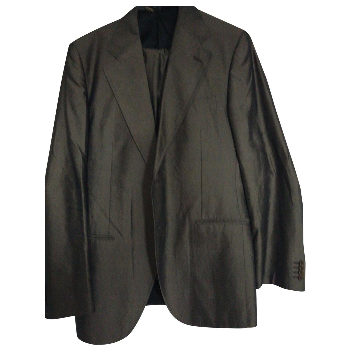 Dolce & Gabbana - Costumes   pour homme en soie - marron