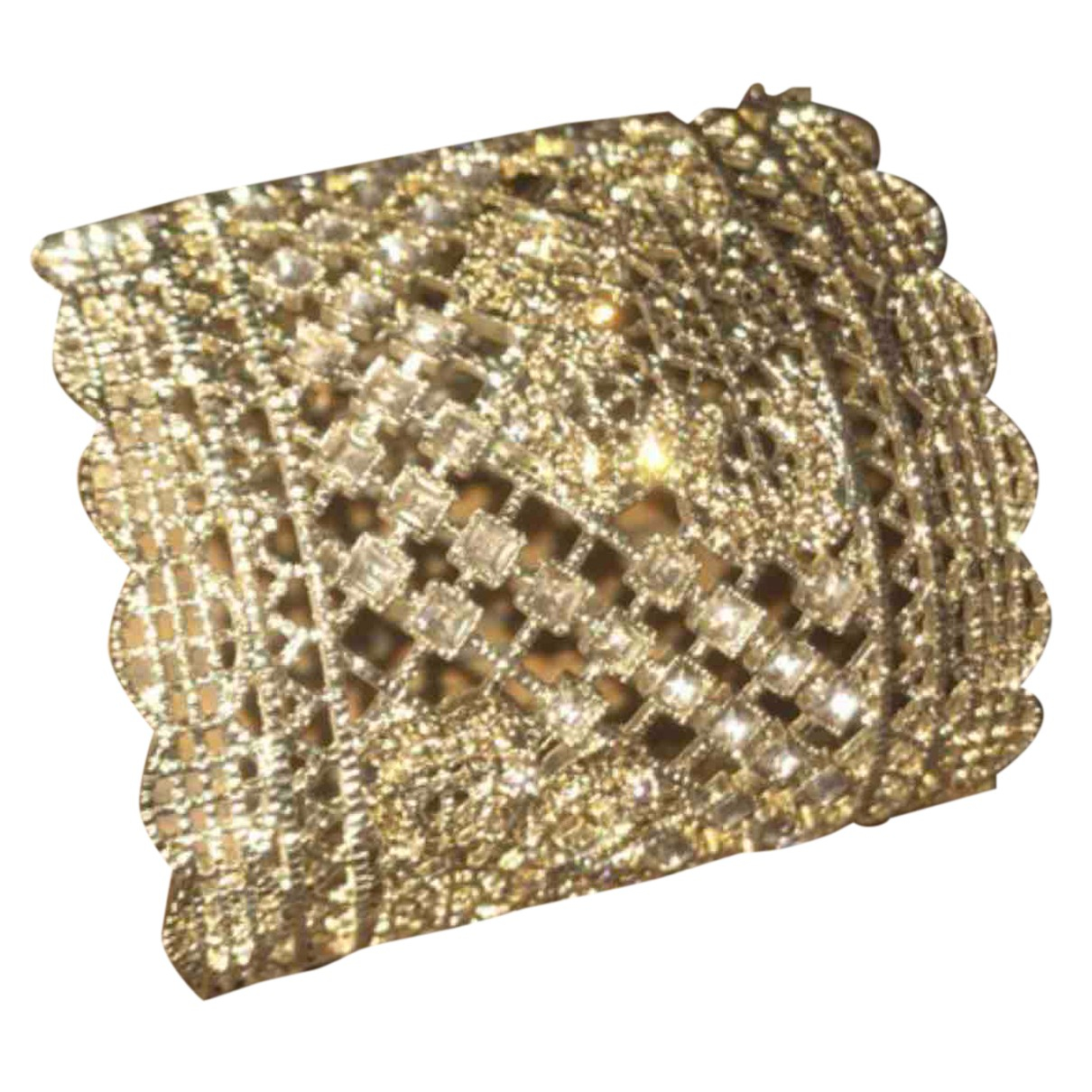 Autre Marque - Bracelet   pour femme en metal - dore