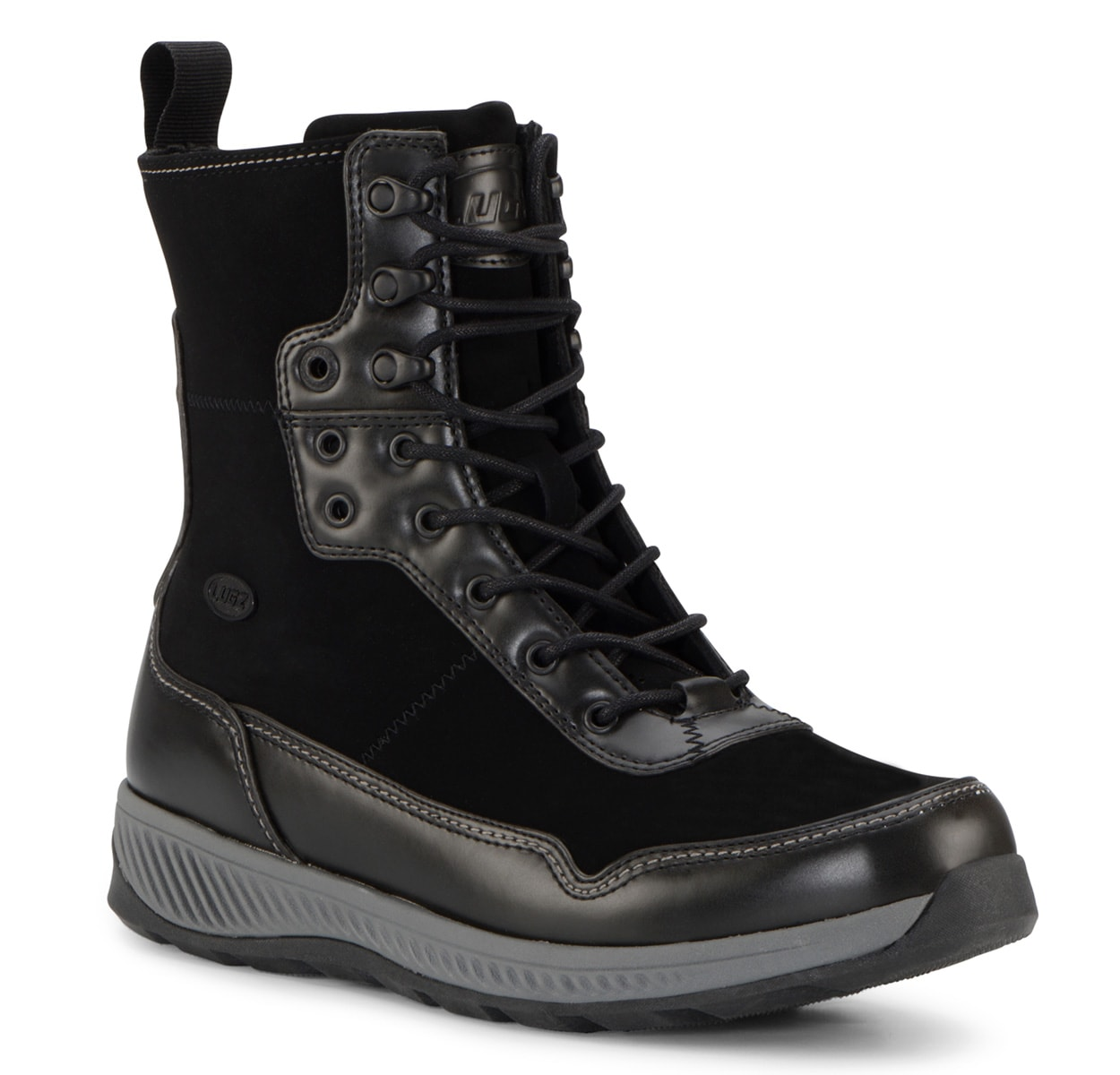 Men's Joel 6-Inch Boot (Choose Your Color: Black/Charcoal, Choose Your Size: 11.5)