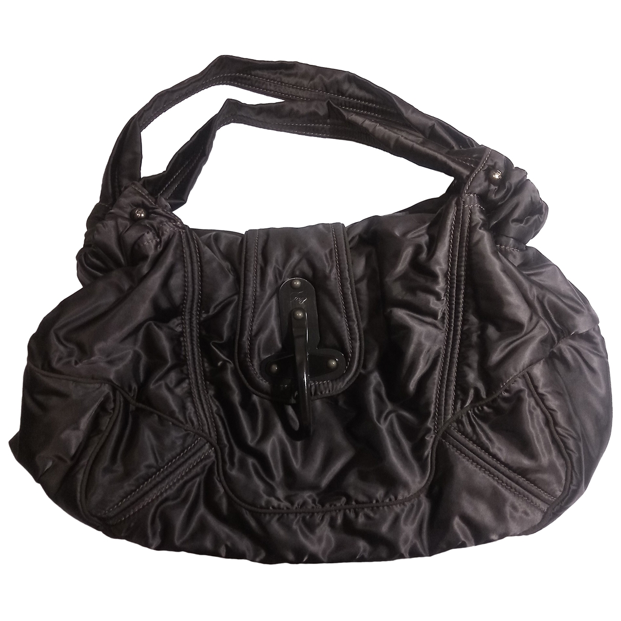 Fay \N Brown Cloth handbag for Women \N