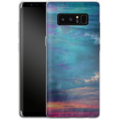 Samsung Galaxy Note 8 Silikon Handyhuelle - Ocean Sky von Amy Sia