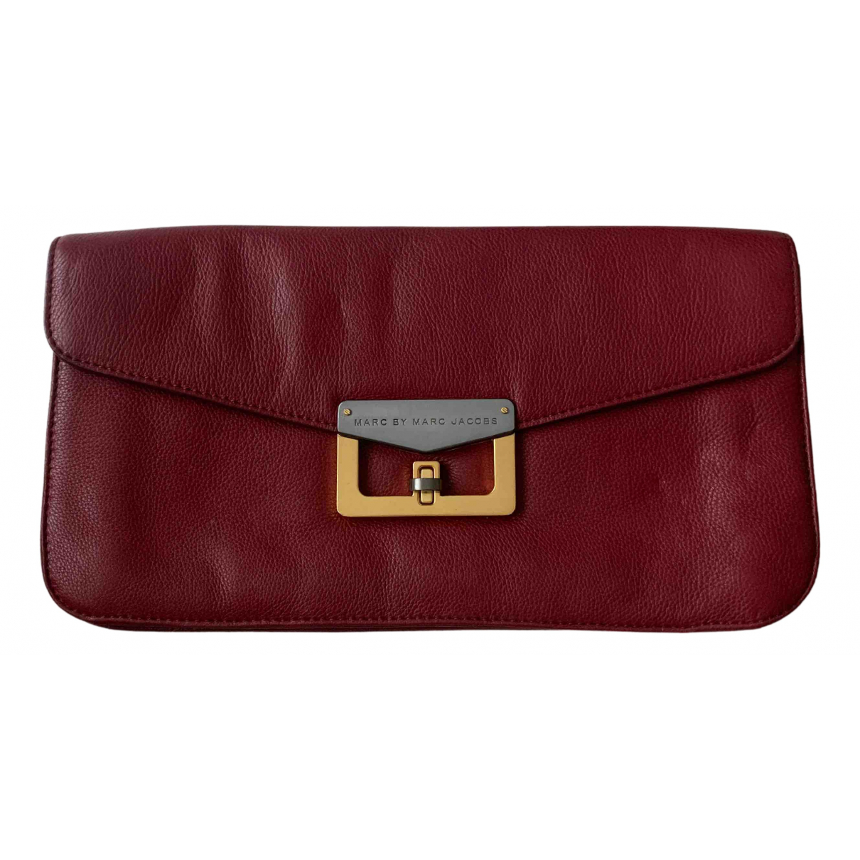Marc By Marc Jacobs N Burgundy Leather Clutch bag for Women N